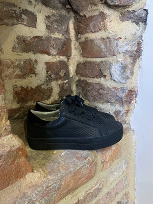 Hip Shoes Style Piton Sneaker - Black (outlet)