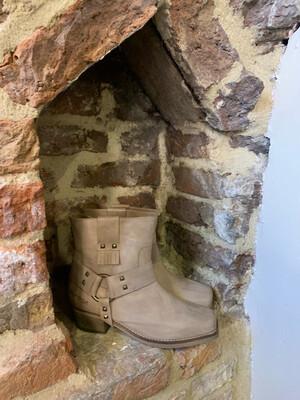 Isla Ibiza Cowboy Boots - Toupe (outlet)