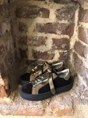 Hip Shoe Style Donna Green Velvet (outlet)
