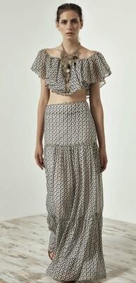 Access Spell Skirt Beige