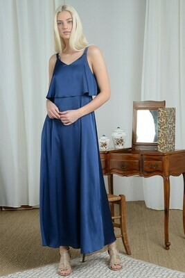 Molly Bracken Woven Dress Sky