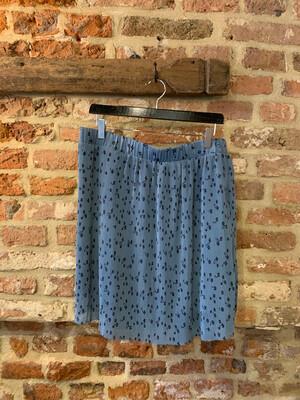 Gestuz Jeanett Skirt - Blue Flower (outlet)