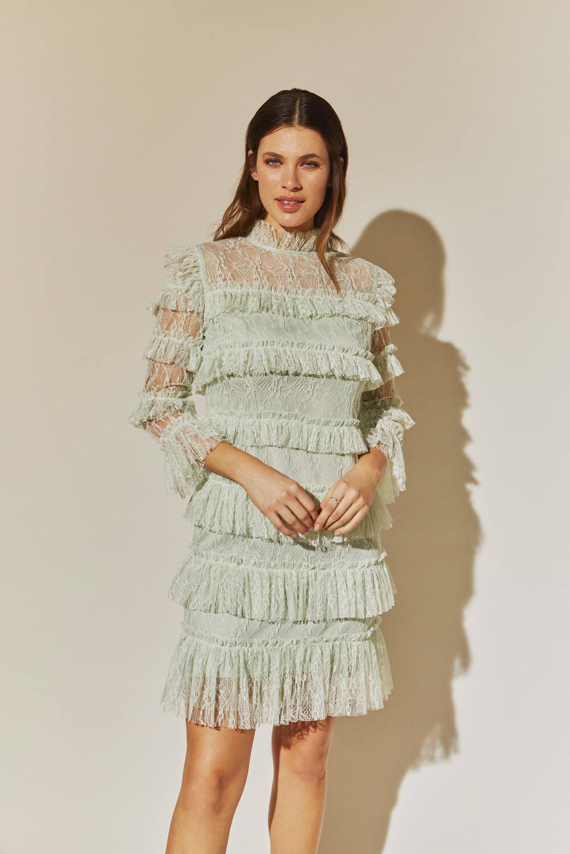 By Malina Camine Mini Dress