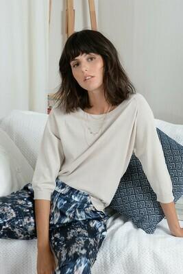 Molly Bracken Knitted Sweater Shine Nude