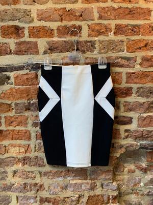 Mink Pink Skirt Josje - Black & White (outlet)