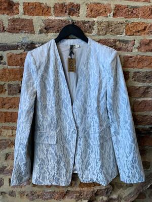 Molly Bracken Blazer Lace - Zilver/white (outlet)