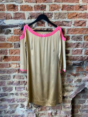 Joyce & Girls Tunic/Dress - Silk Gold (outlet)