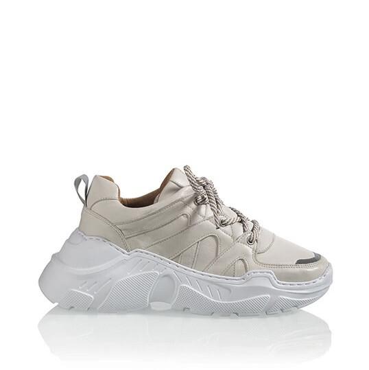 Dwrs Sneakers - Dubai - Leer beige