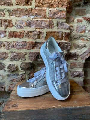 Hip Shoe Style Sneakers - Silver (outlet)