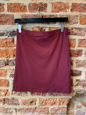 Modstrom Tutti Skirt - Bordo Basic (outlet)