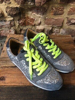 Amust Rina Sneaker Grey/ Silver (outlet)