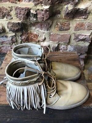 Cha Boots Sneaker Fringle Beige (outlet)