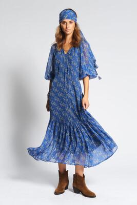 Moliin Asuri Dress - Blue