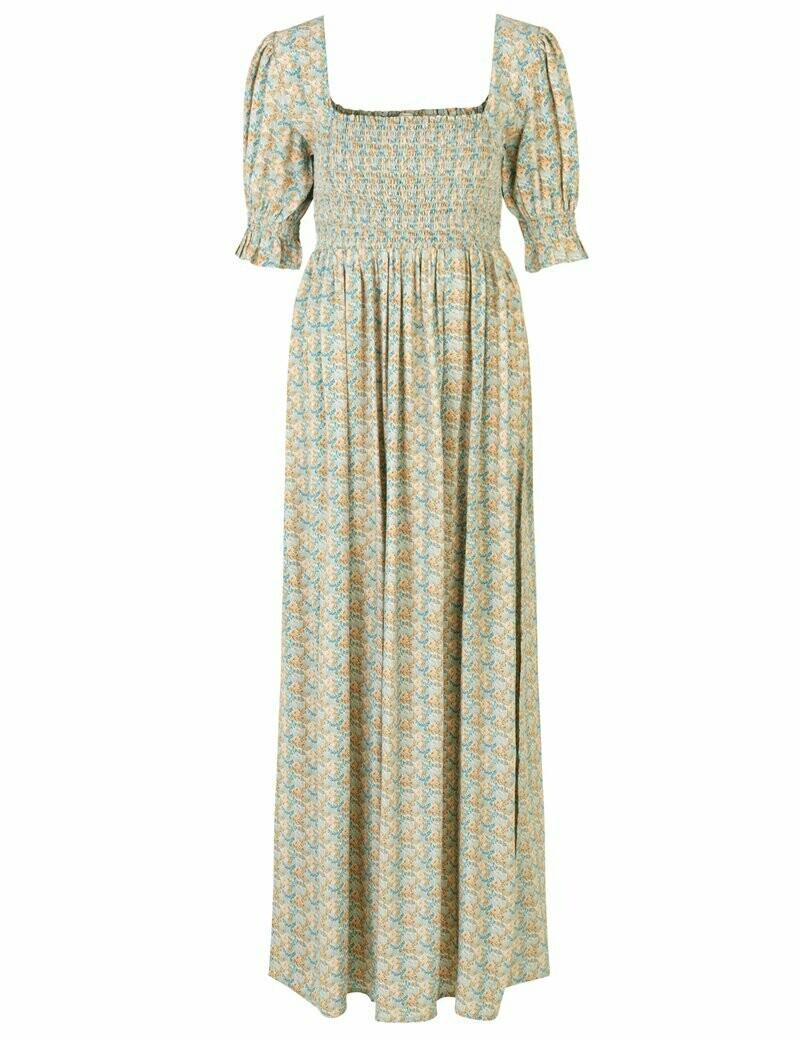 Notes du Nord Taylor Flower Maxi Dress