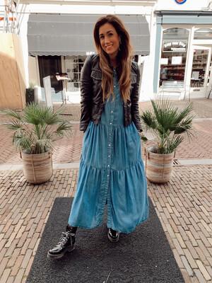 Silvian Heach Timurray Denim Dress