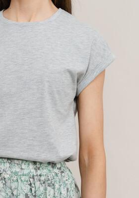 Rut & Circle Ellen T-Shirt - Grey Melange