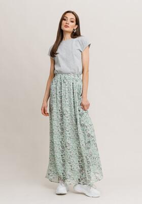 Rut & Circle Sienna Maxi Skirt - Dusty Mint Flower