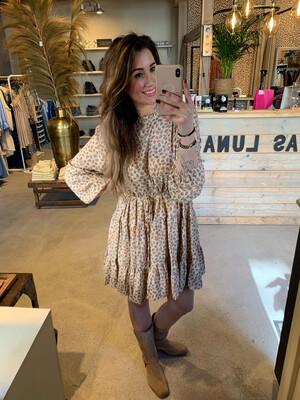 Molly Bracken Jennifer Dress - Flower Cream