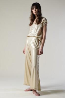 Molly Bracken Golden Power Pants - Golden Beige