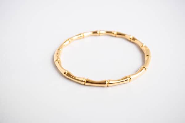 Zag Bijoux Bracelet Bamboe Love - Gold