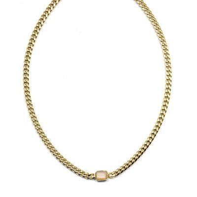 Zag Bijoux Chain Chunky Sunstone | Goud