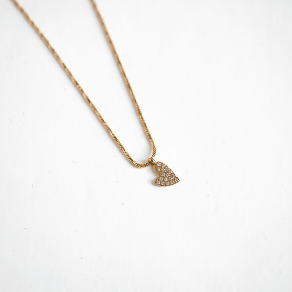 Zag Bijoux Chain Heart | Gold