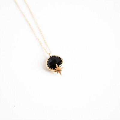 Zag Bijoux Chain Black Star | Gold