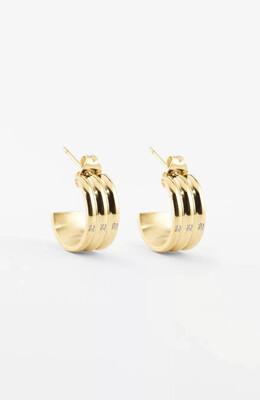 Zag Bijoux Earrings Monaco | Gold