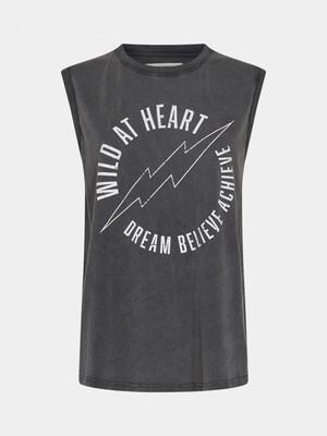 Sofie Schnoor T-shirt Wild Heart - Vintage Black