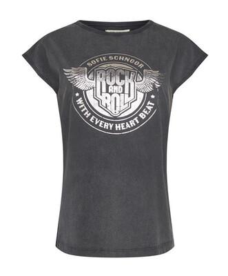 Sofie Schnoor T-Shirt Rock And Roll - Vintage Black
