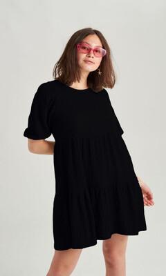 24 Colours Dress Summer Vibes - Black