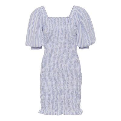 A-View Dress Rikka - Blue White