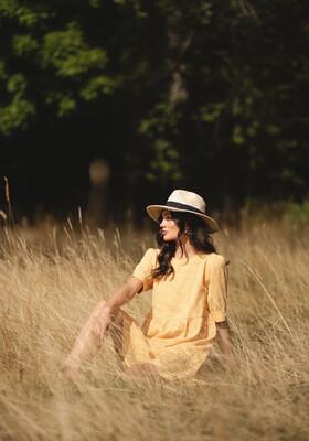 Rut & Circle Cornelia Dress - Yellow