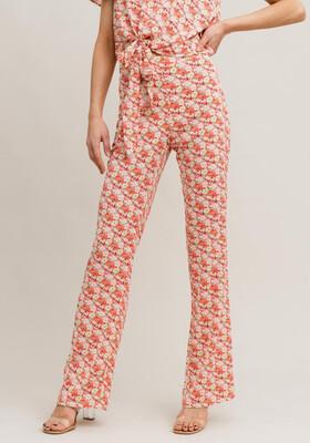 Rut & Circle Fanni Pants - Pink Flower