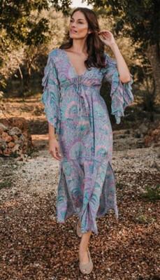 Hippy Chick Ibiza Dress Venus - Pink/Lilac