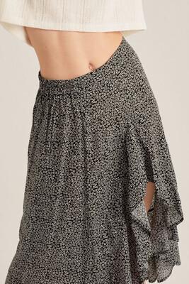 24 Colours Skirt Madelief - Black/White
