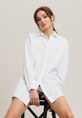 Rut & Circle Meja oversized Shirt - White