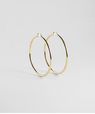 Zag Bijoux Earrings Paris Round   Gold