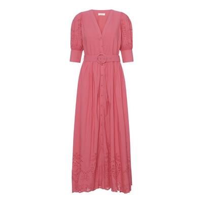 Notes Du Nord Dress Vanessa - Pink Coral