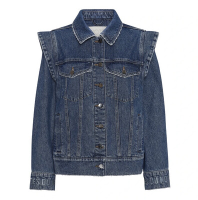Notes Du Nord Denim Jacket Venice - Blue Wash