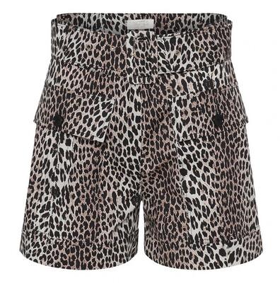 Notes Du Nord Shorts Vicky - Leopard