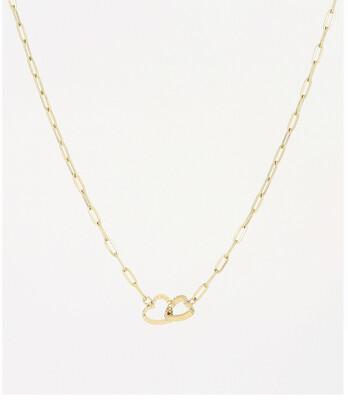 Zag Bijoux Chain Heart Chunky | Goud