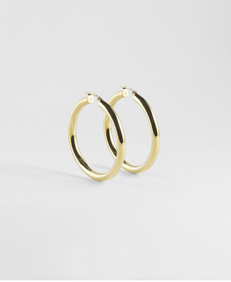 Zag Bijoux Earrings Hoops | Gold