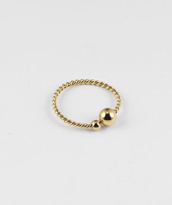Zag Bijoux Joan Ring | Gold