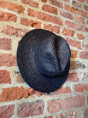 Las Lunas Hat Del Mar - Black