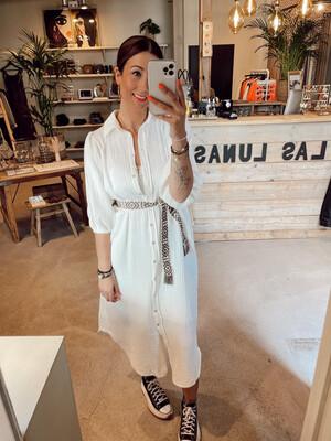 Las Lunas Gigi Dress - White