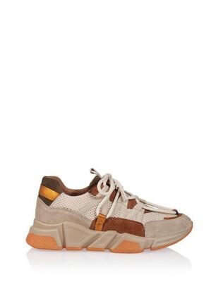 Dwrs Sneakers Los Angeles - Beige/cognac