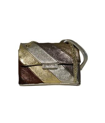 Las Lunas Rainbow Bag Metallic Brown - Small