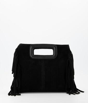 Las Lunas Sylvie Bag Fringe - Black