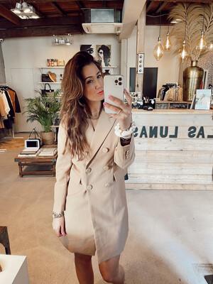 Las Lunas - Blazer Dress Ezra - Camel